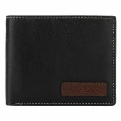 Woodland W 524004 Black Men's Leather Wallet