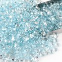 Natural Sky Blue Topaz in Brilliant Cut for Jewelry Making Stone
