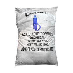 Powder Boric Acid For Laboratory, Packaging: Bag