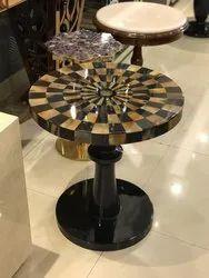 Horn Inlay Table
