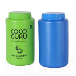 Blue And Green 500 ml HDPE Wider Mouth Jars