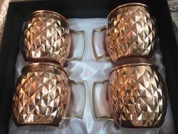 Copper Mule Mug Set