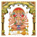 Ceramic Hanuman God Tiles