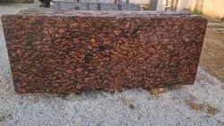 Polished Thick Slab Brazil Brown Granite, for Countertops, Thickness: 15-20 mm