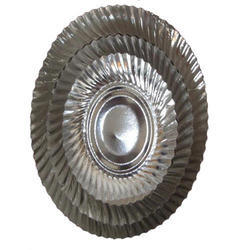 High Quality Silver Paper Plates
