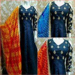 Silk Dress W-04