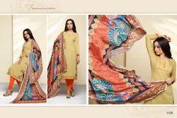3/4 Sleeve Masakali Salwar Suit Fabric