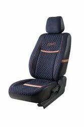 Velvet Feel Blue Denim Retro Seat Cover