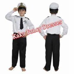 Kids Navy Fancy Dress Costume