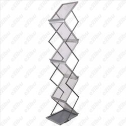 EXIBU Imported Aluminum Brochure Stand