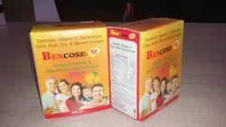 Energy Powder Dextrose Minerals, Vitamin C & D3 (mango Flavour)