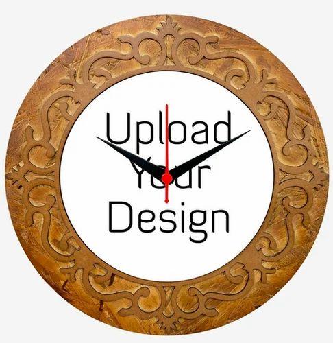 Make Your Own Designer Round Clock