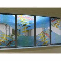 Decorative Printed Window Glass, Thickness: 2-12 Mm