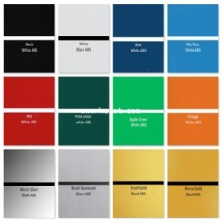 ABS Color Sheets