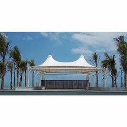 Membrane Conical PVC Tensile Structure