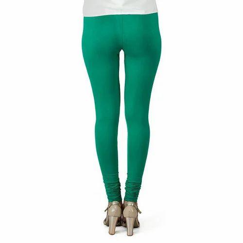5885b8336d3e2 Green Churidar Ladies Legging, Size: Small, Rs 150 /piece | ID ...
