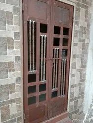 Dynamova Hinged Designed Iron Gate, For Residential