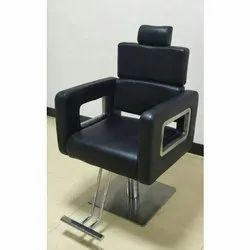 JBW Black Synthetic Leather Salon Chair