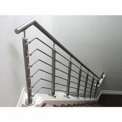 Lever Handle Stairs Stainless Steel Staircase Railing