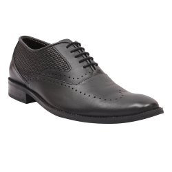 Forever Leathers Black Leathers Shoe