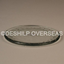 Deshilp Overseas Clear Glass Plate, Size: More Size Available