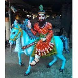 Baba mohan ram statue