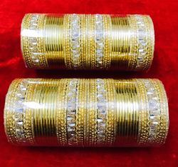 Designer Metal Colorful Ladies Indian Bangles