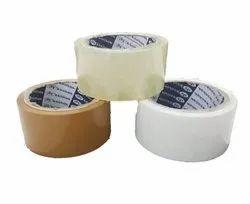 White Bopp Tape Roll for Packaging