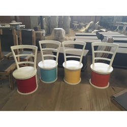 Antique Color Full Chair