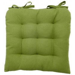 Green Color Chair Pad Polyester Fiber Fill
