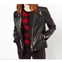 Ladies Stylish Leather Jacket