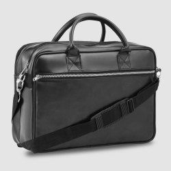 Falcon Blended PU Executive Laptop Bag, Capacity: 3 Compartments