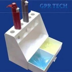 Micro Pipette Stand 6 Holes With Tip Box