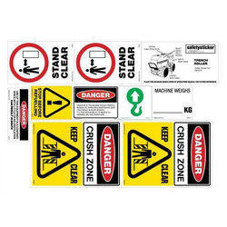 Road Safety Sticker