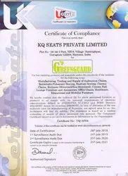 Green Guard Certificate