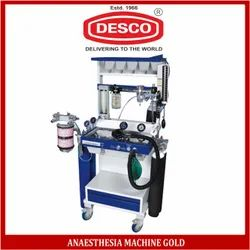 DESCO Anaesthesia Machine Gold (Mild Steel), Model Number: Apam 111, for Hospital