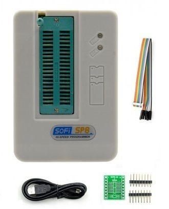Sofi Sp8 A Eeporom Serial Eeprom & Flash Pro Programmer