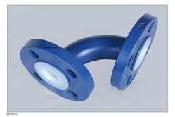 MS PTFE Lined 90 Degree Elbows