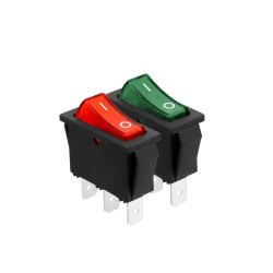 SPST Illuminated Rocker Switch