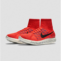 Red Nike Luner Epic Flyknit 2016 Shoes, Size: 41-45