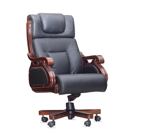 Black And Brown Boss Office Chair