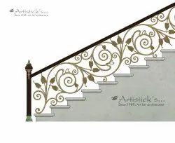 Artisticks Brass Baluster