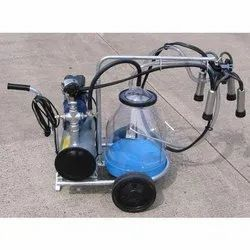 JMD INDIA Double Head Cow Milking Machine