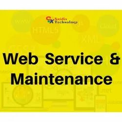 Online Web Service And Maintenance Service, In Pan India