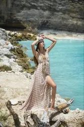 Spaghetti Strap Long Maxi Dress