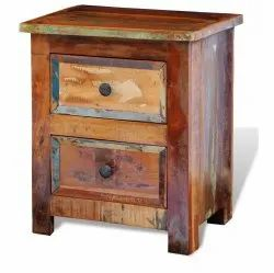 Solid Reclaimed Wood Nightstand