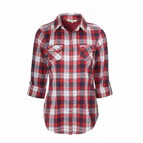 Ladies Check Shirt at Rs 200 /piece | Girls Check Shirt, Womens ...