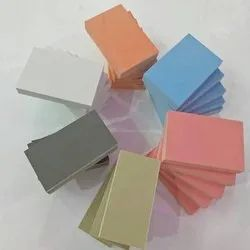 Multicolor PVC Foam Sheet