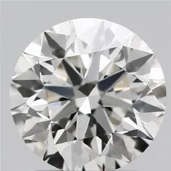 1.65ct Lab Grown Diamond CVD H VVS2 Round Brilliant Cut IGI Crtified Type2A