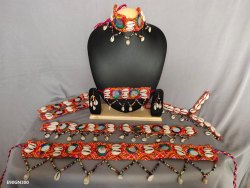 Navratri Necklace - Gamthi kodi Set - Traditional Jewellery